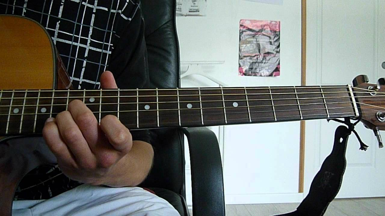 The Funeral Band Of Horses Guitar Lesson Youtube