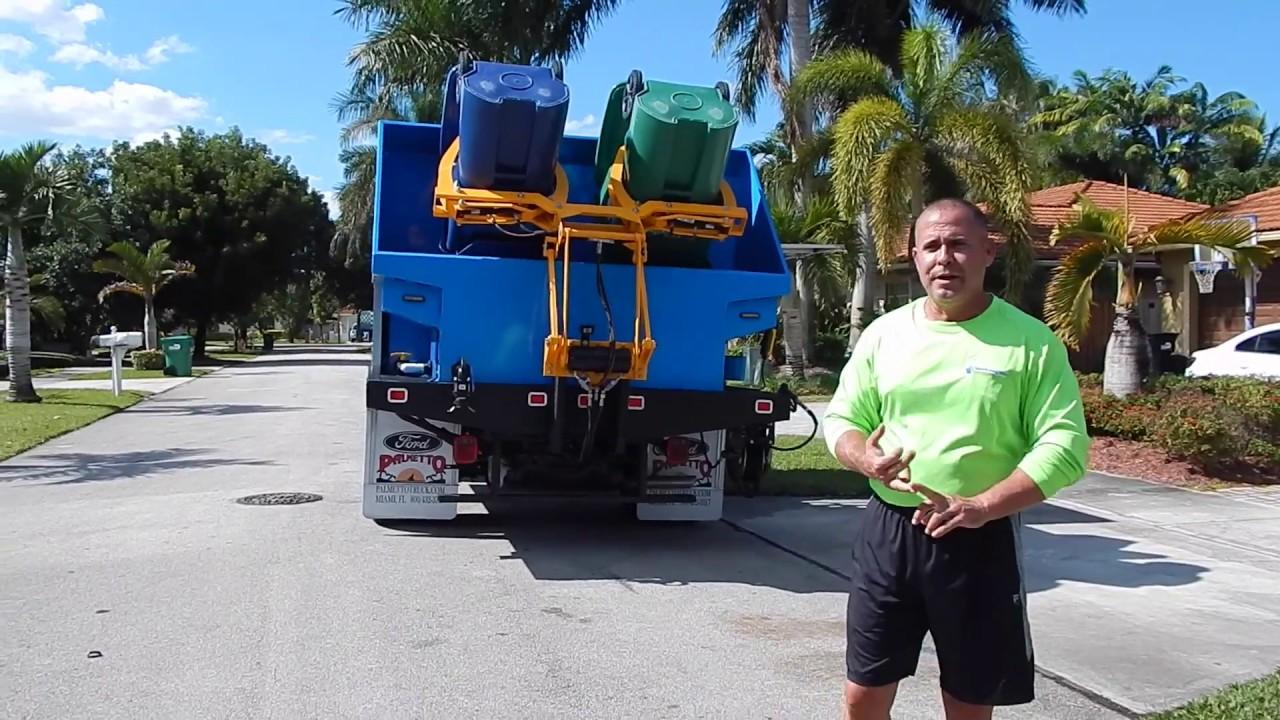 trash bin cleaning trucks for sale youtube. Black Bedroom Furniture Sets. Home Design Ideas