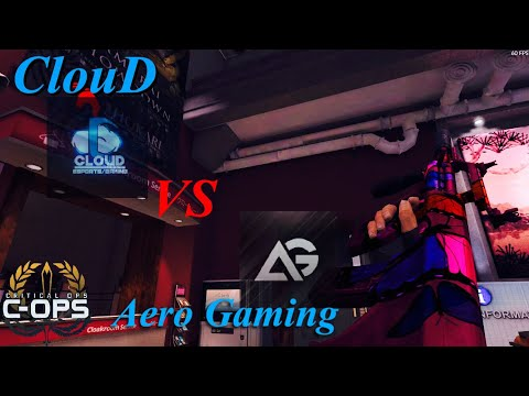 Critical Ops:ClouD vs Aero Gaming full scrim 【1080P60FPS】