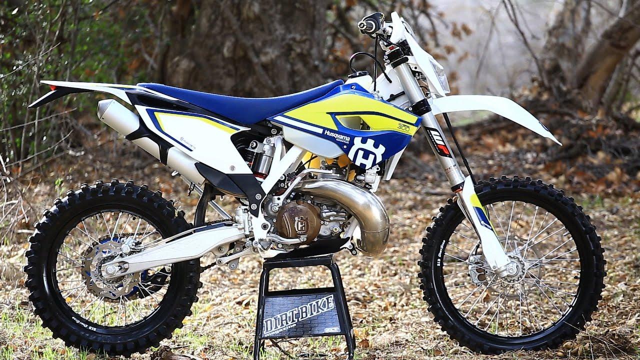 2016 Husqvarna Te300 2 Stroke Dirt Bike Magazine Youtube