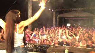 DJ FLOWER aka Virag Voksan @ East Fest 2016, Mezőtúr (HU) part2