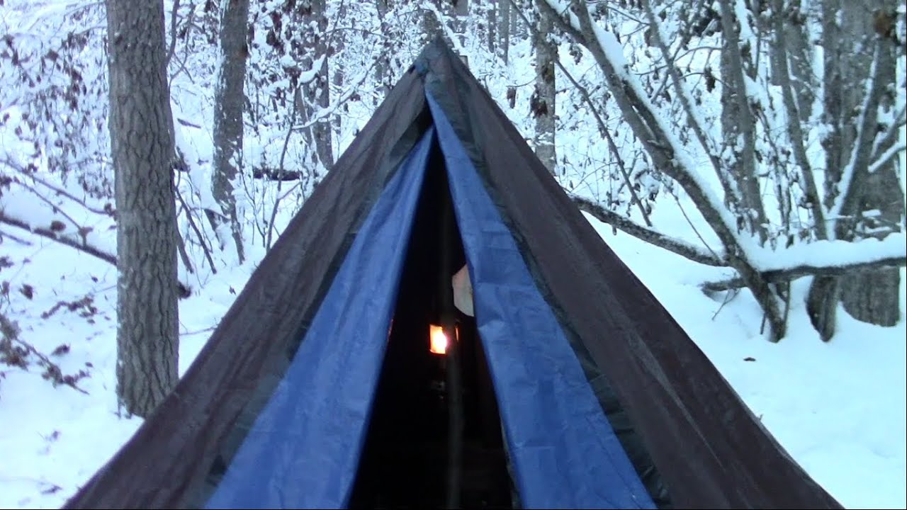 & 28 Handy Winter Hot Tent Camping Tips Tricks And Advice - YouTube