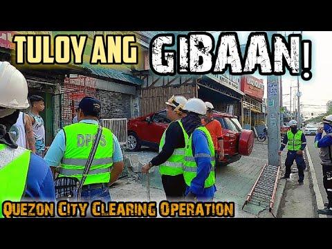 Nag self demolish na ang mga residente | Quezon City Clearing Operation Update | Metro Manila Update