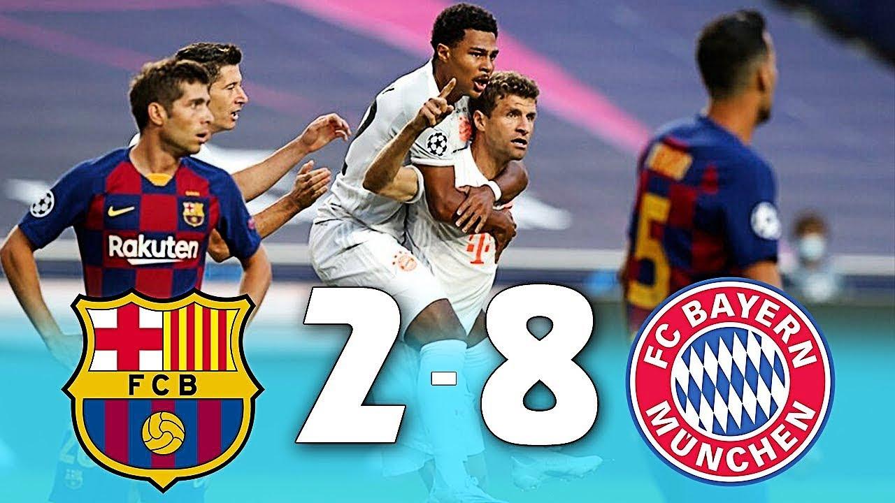 Download Barcelona vs Bayern Munich 2020   UEFA Champions League Full Match