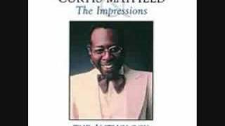 Watch Curtis Mayfield Never Let Me Go video