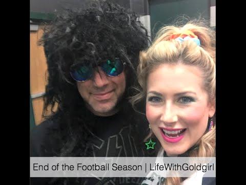 End Of The Football Season | LifeWithGoldgirl