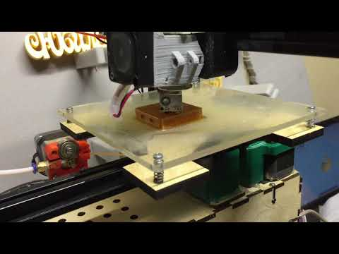 Самодельный Pet пластик из пивной бутылки тесты печати на 3д принтере