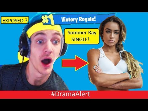 Ninja EXPOSED? #DramaAlert Sommer Ray 100% SINGLE!!!