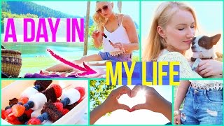 A SUMMER DAY in my LIFE - DIY Picknick Snacks, Outfits & Inspiration
