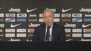 LIVE - Conferenza stampa di presentazione di Massimiliano Allegri