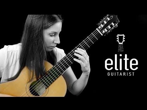 Elite Guitarist Lesson Sample - La Catedral Allegro Solemne Taught by Ines Thomé (2005 Fritz Ober)