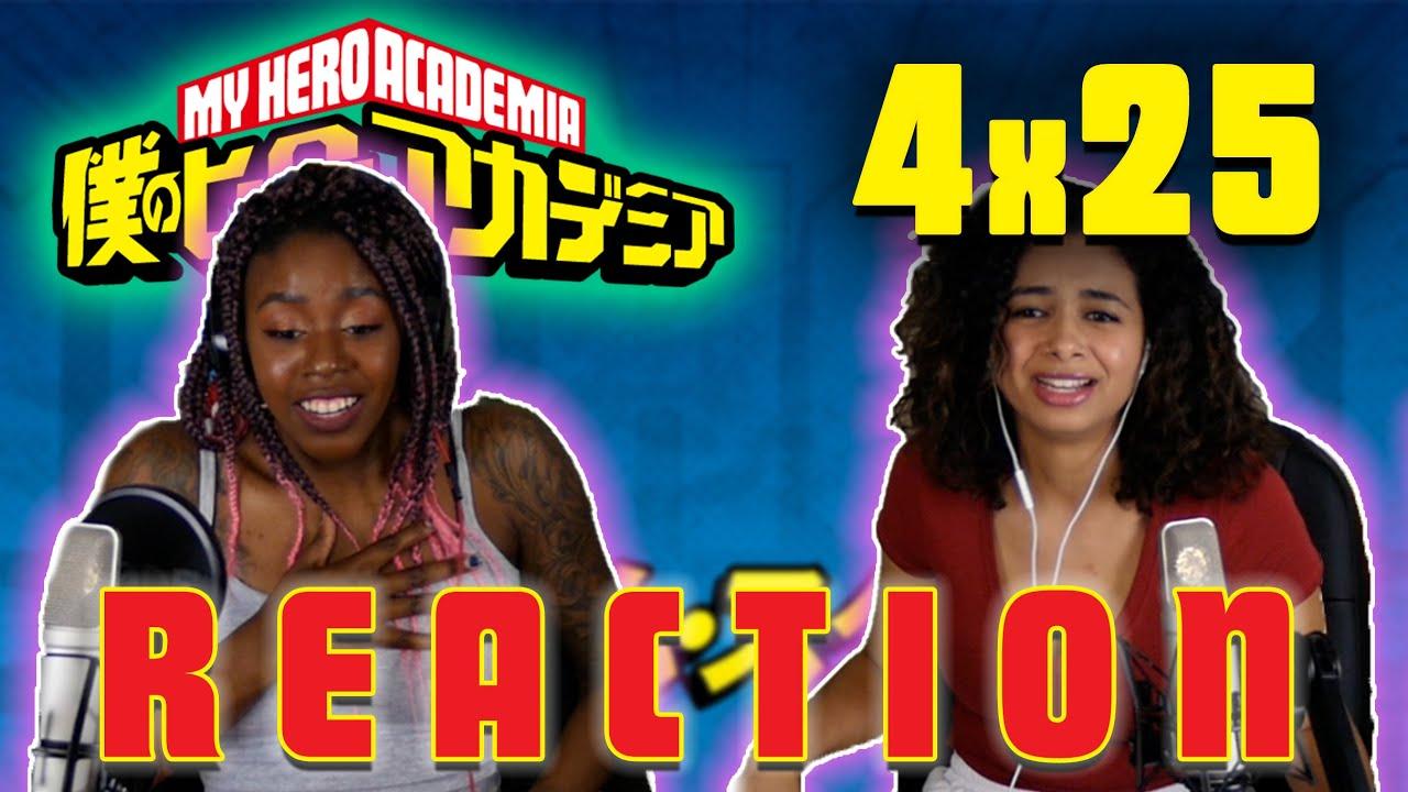 Download My Hero Academia 4x25 REACTION!!