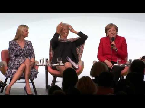 """W20-Frauenkonferenz: """"Frau Merkel, sind Sie eine Feministin?"""""""