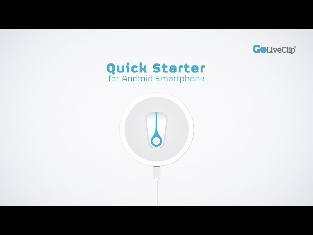 GoLiveClip Quick Starter Video