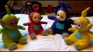 Original 1996 Teletubbies Teletubby Interactive Toys In Action