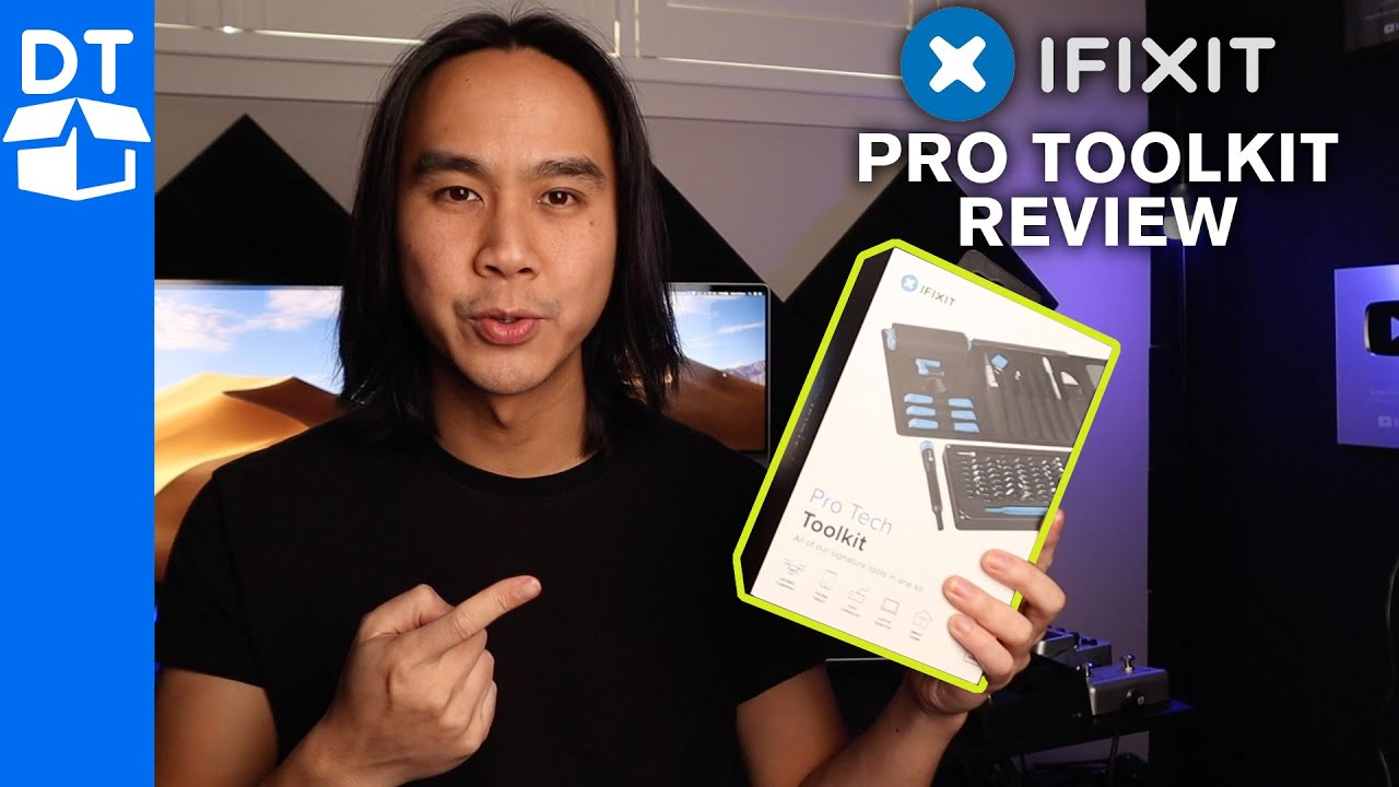 Ifixit Pro Tech Toolkit Review Unboxing Youtube
