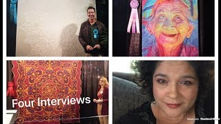 Houston Quilt Festival 2018 Part 2  (Interview of Quilt top makers)