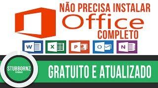 Você sabia? Office 2017 Gratuito, sem precisar instalar - Online e Original