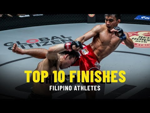 Top 10 Finishes   Filipino Athletes   ONE Highlights