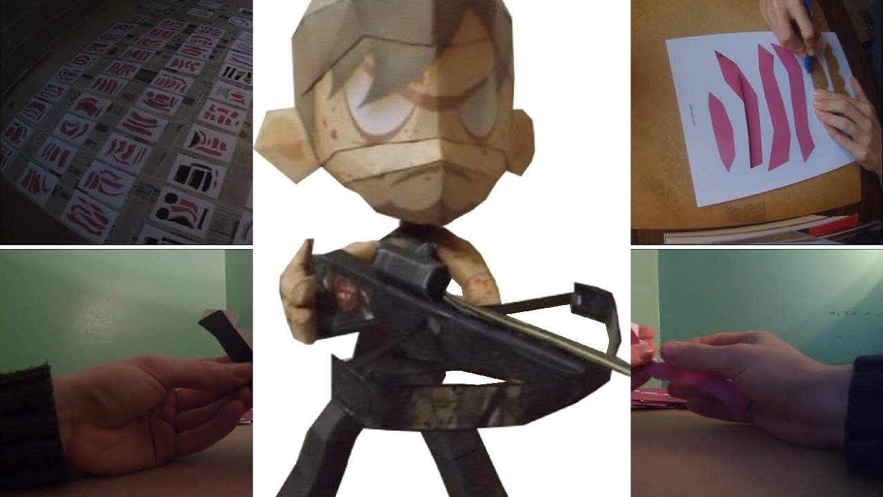 Papercraft PAPERCRAFT #2 - Daryl Dixon - The Walking Dead