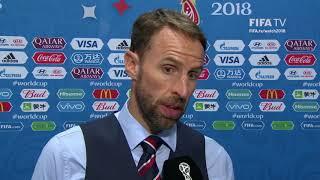 Gareth Southgate - Post Match Interview - MATCH 62