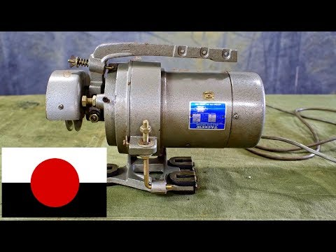 Industrial Sewing Machine Clutch Motor - Components Operation Wiring on