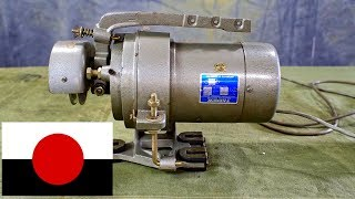 Industrial Sewing Machine Clutch Motor - Components Operation Wiring Diagram