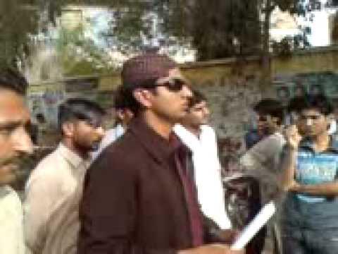Aftab Rahimoon's speech at hyderabad press club