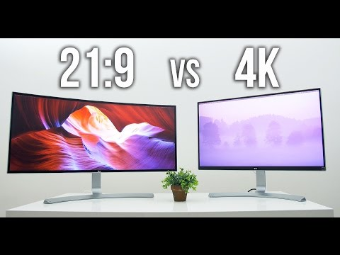 UltraWide 21:9 vs UHD 4K | Which is for you?