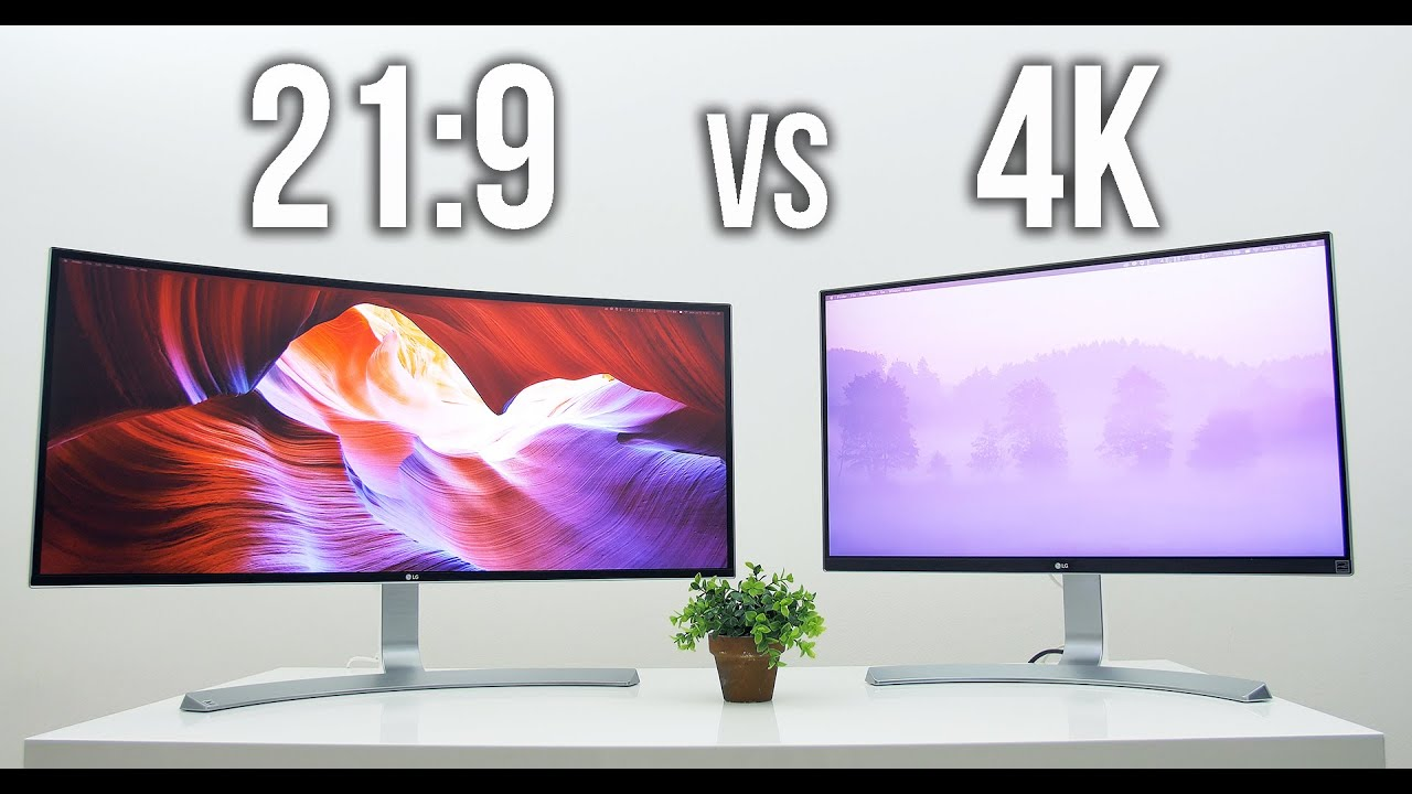 ultrawide 21 9 vs uhd 4k which is for you youtube