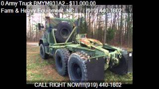 0 Army Truck BMYM931A2  for sale in Farm and Heavy Equipment