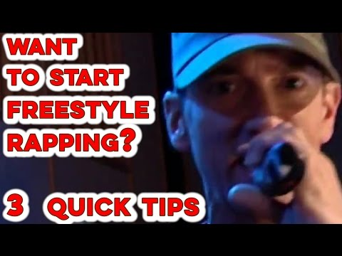 How To Freestyle Rap: 3 Top Secrets For Beginners (Examples + Tips)