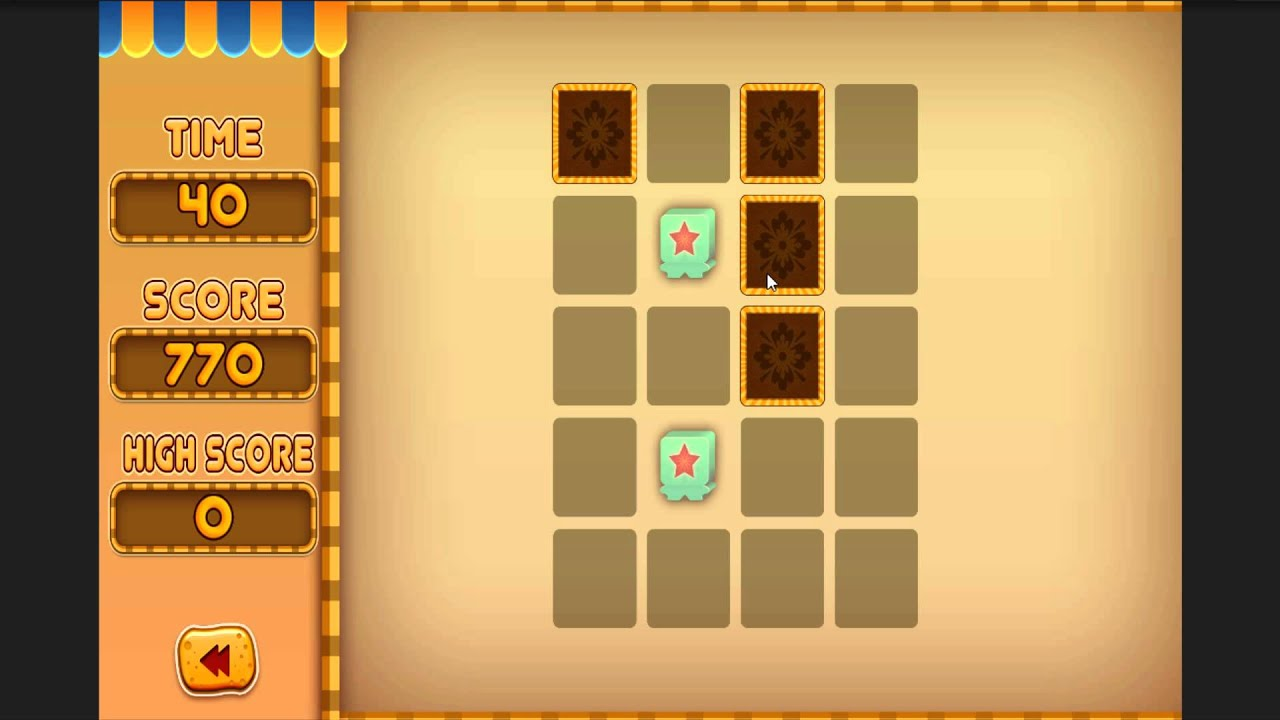 Memory Puzzle Game Source Code Unity 2D