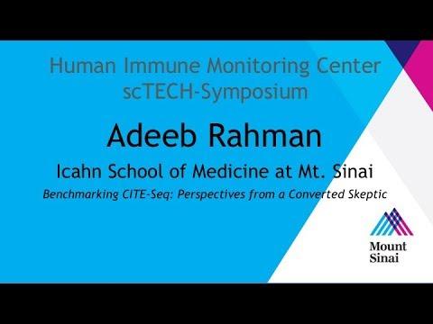 Mount Sinai HIMC scTECH-Symposium 2018: Adeeb Rahman