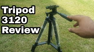 Tripod 3120 Full Review / Best Mobile Tripod Review
