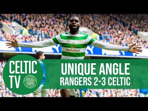 Celtic FC - UNIQUE ANGLE: Glasgow Derby goals from Ibrox