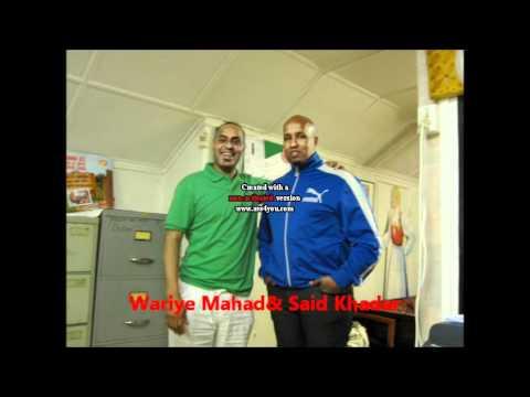Maqal Radio iyo waraysigii  Said Khadar( Xabsiga dhexe ee  Oslo).