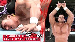 WWE2K19 20 mins of Daniel Bryan Showcase
