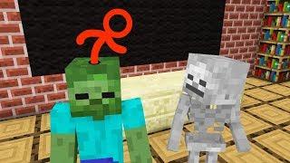 Monster School: Brain Life - Minecraft Animation