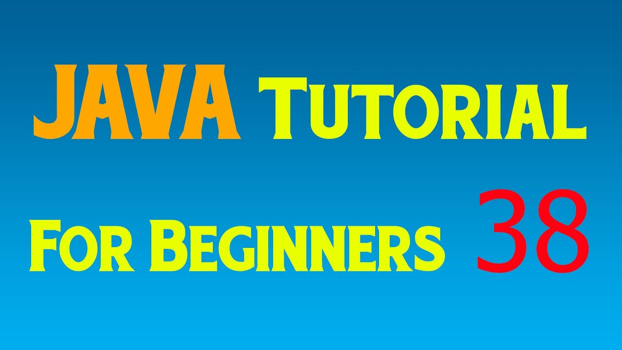 Java Tutorial for Beginners - 38 - Polymorphism - YouTube