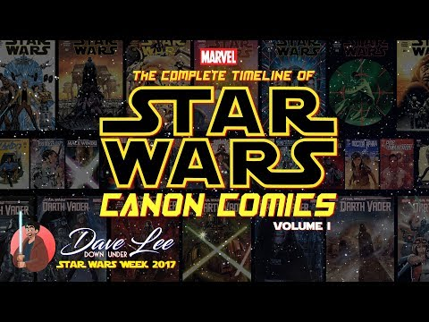 Star Wars Comics: The Complete Canon Timeline