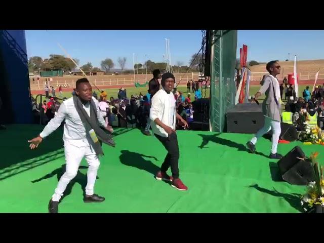 Kool Kruzes live performance #youthdaycelebration18 Limpopo