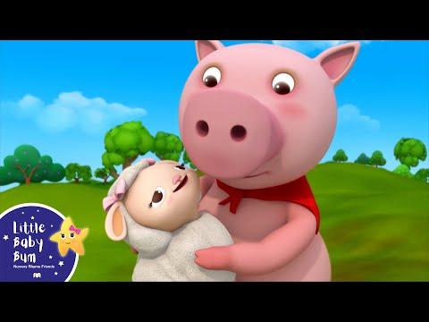 Little Bo Peep Has Lost Her Sheep | Nursery Rhymes | by LittleBabyBum!