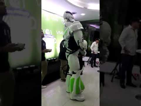 real life robot dancing