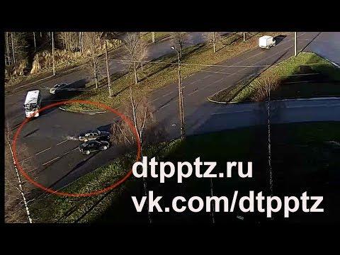 Очередное ДТП на Комсомольском проспекте
