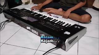 Cover Payung Hitam Karaoke Dangdut Koplo Instrument Keyboard No Vokal