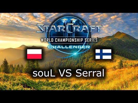 souL VS Serral - WCS Challenger Spring 2019 Playoffs - polski komentarz