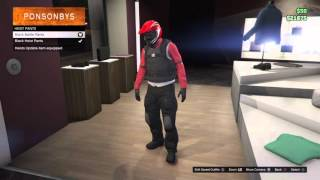 GTA 5 Online - New Clothing Glitch! (Motorcycle Gear) CHECK DESCRIPTION!