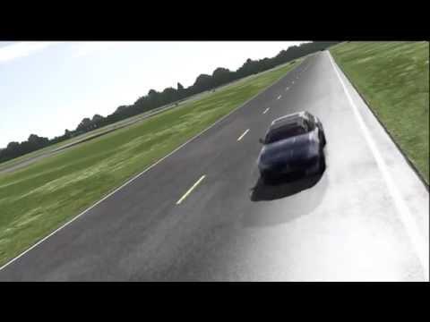 2012 Maserati Quattroporte GT S Top Gear Track
