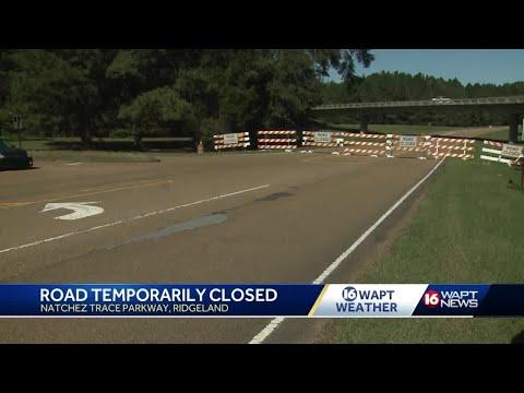 Section Of Natchez Trace Closed Near Ridgeland